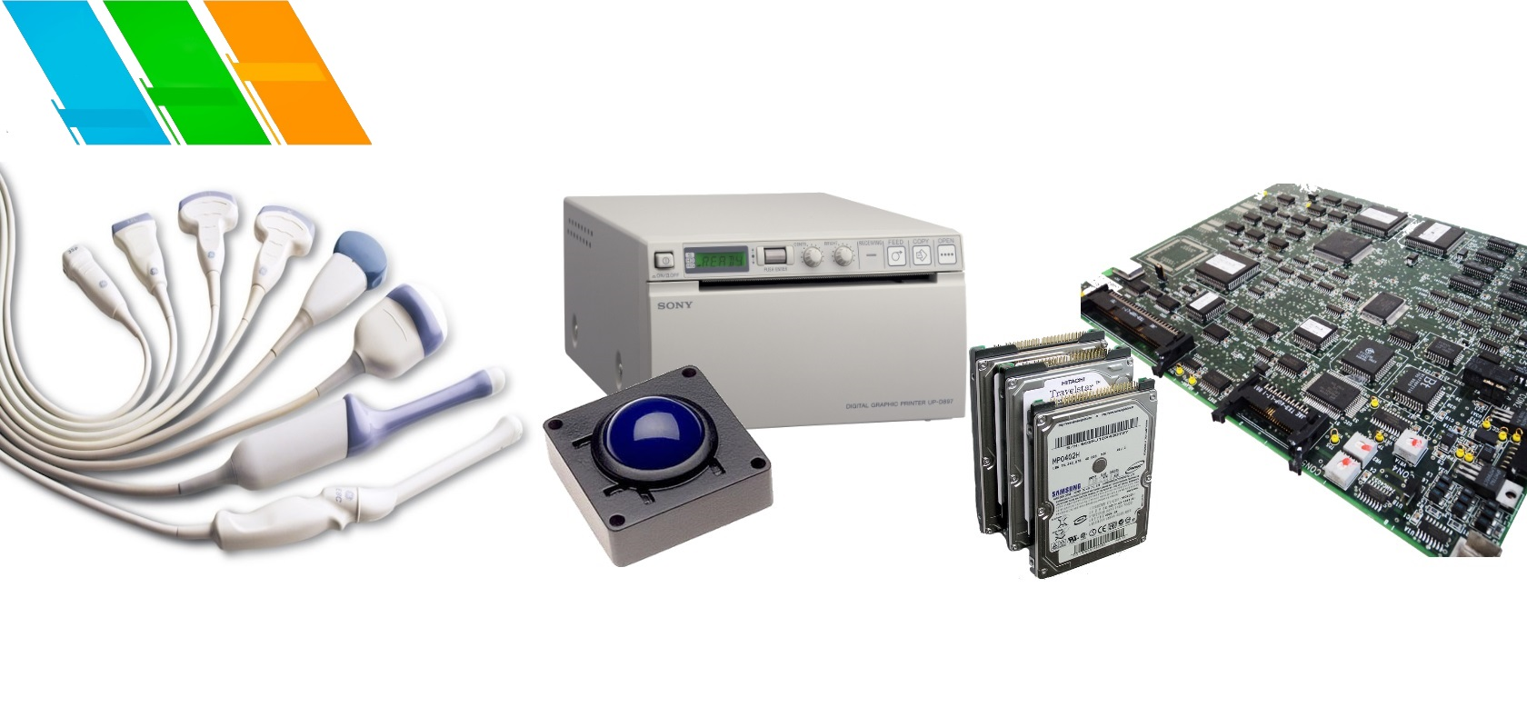 Ultrasound Spare Parts , Transducers , Software Hard Disks
